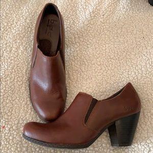 Saddle brow BOC booties